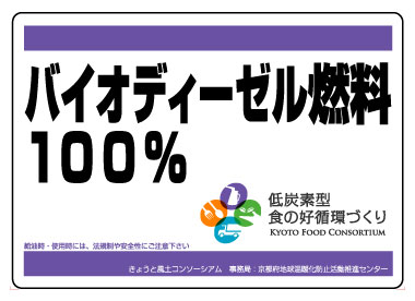 京都地球温暖化防止府民会議様お車用マグネット作例2