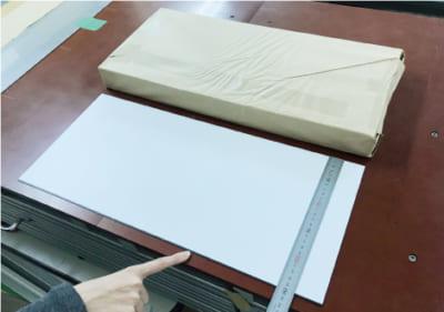 両面マグネット素材 245 x 550mm